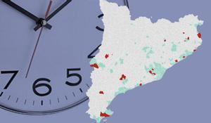 Esta es la lista de municipios de Catalunya afectados con el toque de queda