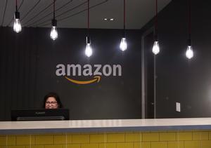 Las oficinas de Amazon, la empresa tecnológica líder en ventas por internet. Canadian Press via AP
