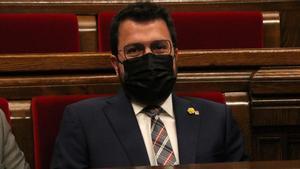 Aragonès acusa el Tribunal de Comptes d'arrogar-se el paper del Constitucional