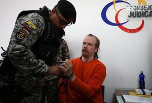 La justicia ecuatoriana dispuso la liberación de Ola Bini.