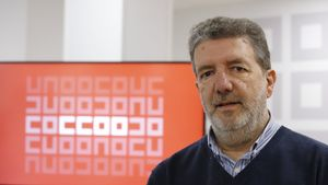 Francisco García, secretario general de FECCOO.