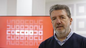 Francisco García, secretario general de FECCOO.