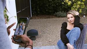 Dominique Druckman, en un momento del rodaje de 'Fake Famous'.
