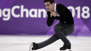 Javier Ferández ocupa la segunda plaza a falta del programa libre de este sábado.