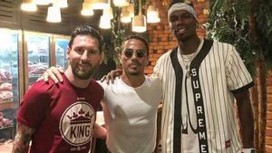 Messi, Gökçe y Pogba, en el restaurante de Dubái del chef turco