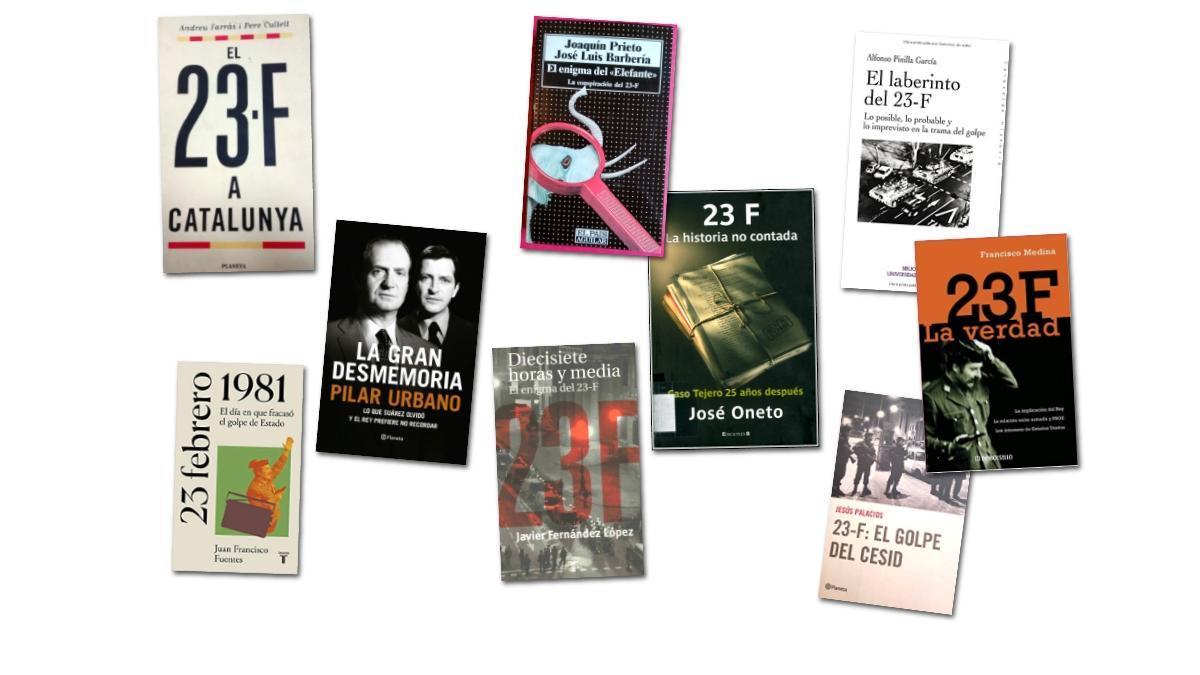 Libros acerca del 23-F.
