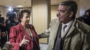 Jose Corbín junto a la exalcaldesa Rita Barberá en una imagen de archivo