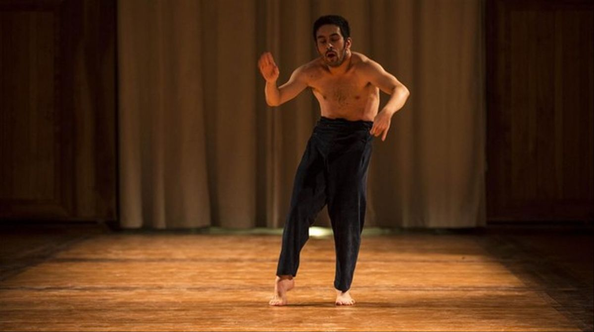 Eduardo Fukushima en 'Homen horto'