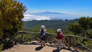 Turistas en la Gomera, Canarias
