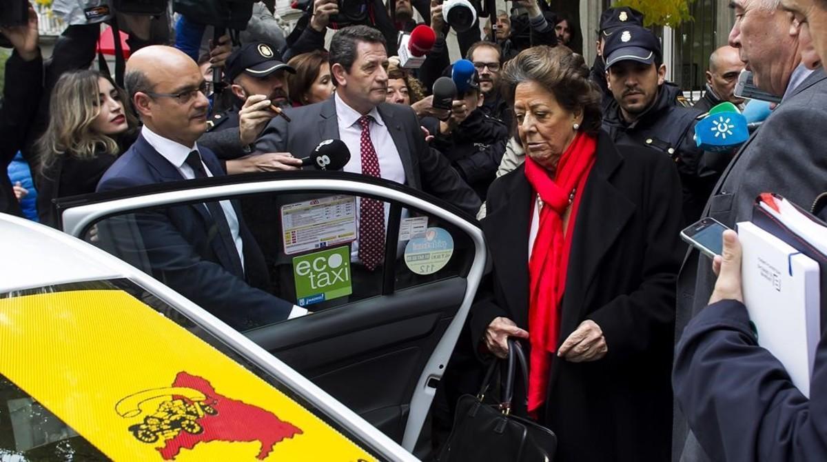 Rita Barberá muere de un infarto en un hotel de Madrid