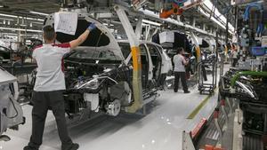 Seat reactiva la seva producció a la fàbrica de Martorell
