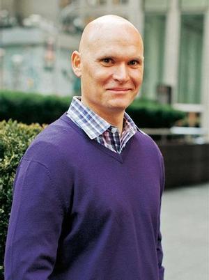 El novelista norteamericano Anthony Doerr