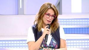 Toñi Moreno en 'Mujeres y hombres y viceversa'.