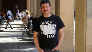 Fon Cortizo, director de '9 fugas', en Barcelona.