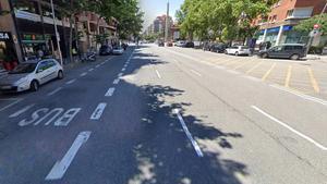 La avenida de Madrid.