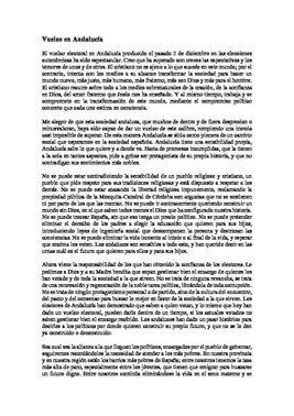 Carta pastoral del obispo de Córdoba sobre el resultado electoral en Andalucía.
