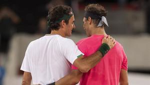 Federer y Nadal, 10 Grand Slams ganados entre ambos superados los 30 años.