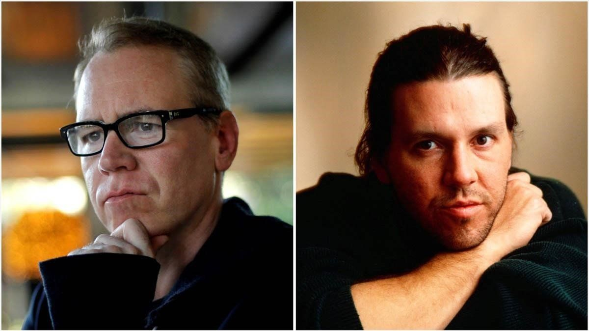 Bret Easton Ellis y David Foster Wallace.