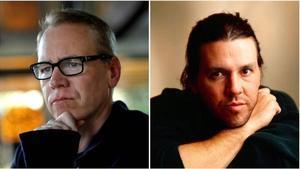 Bret Easton Ellis y David Foster Wallace.