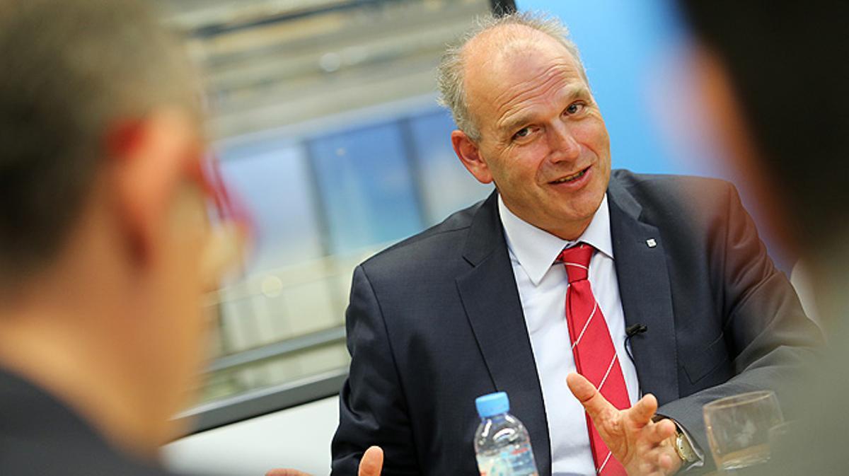 Entrevista con el presidente de Seat, Jürgen Stackmann.