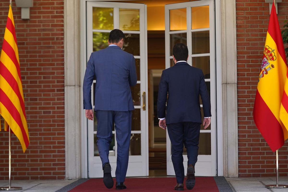 Sánchez i Aragonès: Una negociació empedrada