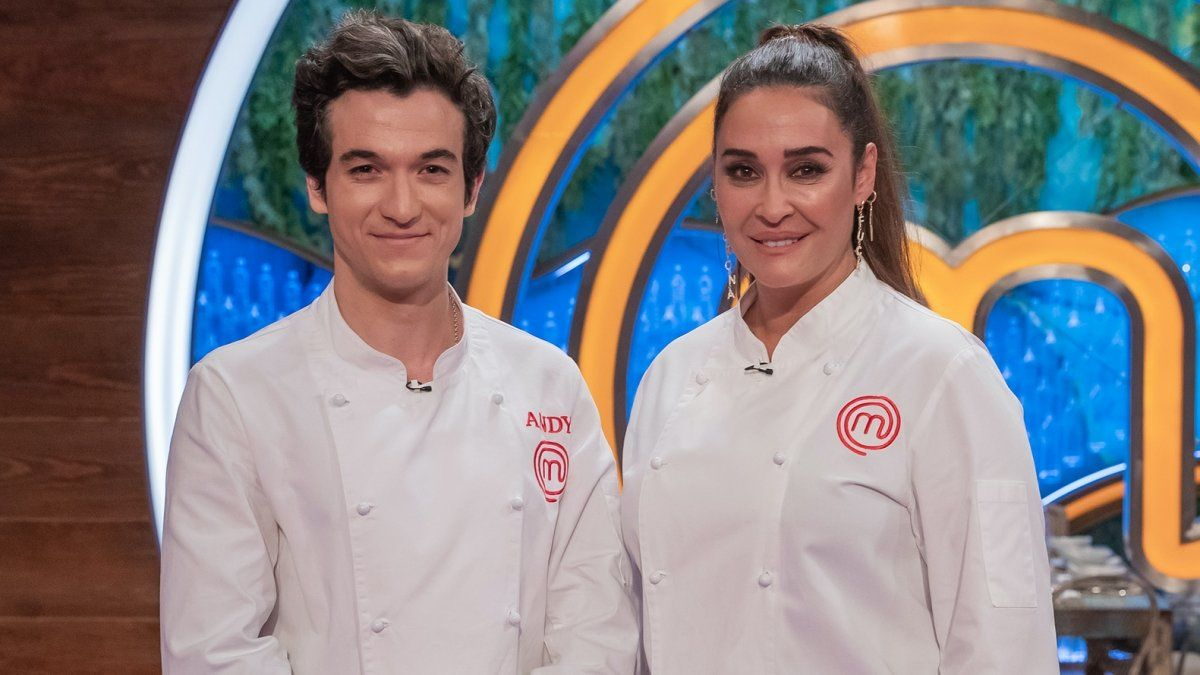 Andy y Vicky Martín Berrocal en 'Masterchef Celebrity 5'.