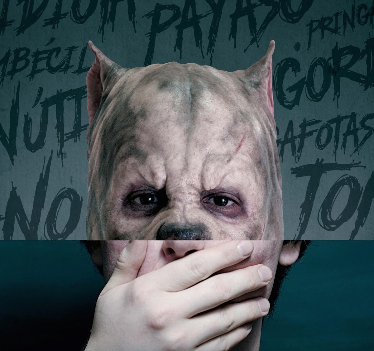 Cartel publicitario contra el 'bullying' de la fundación ANAR