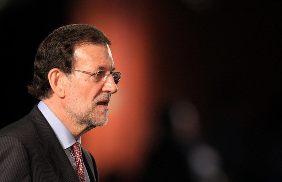 Mariano Rajoy, durante su intervención en el pleno de la cumbre Río+20, el miércoles en Río de Janeiro.