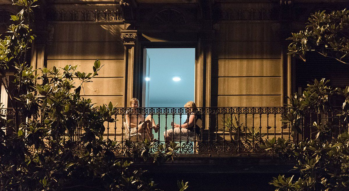 Mirant per l'última finestra