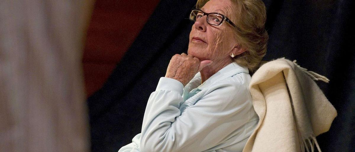 Menchu Álvarez del Valle, la más popular locutora de la radio asturiana y abuela de la Reina Letizia.