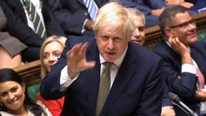 El primerministro británico, Boris Johnson.