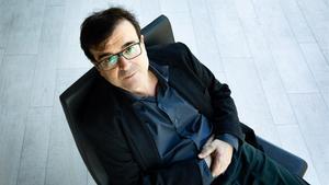 Javier Cercas, en una fotografía reciente tomada tras recibir el Premio Planeta por la novela 'Terra Alta.