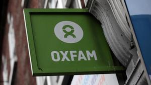 Una oficina de Oxfam en el centro de Londres.