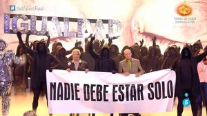 La Murga Zeta Zetas guanya 'Got talent' amb una aplaudida actuació contra la solitud