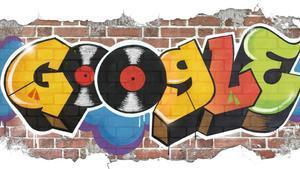 El 'doodle' dedicado al nacimiento del hip hop.