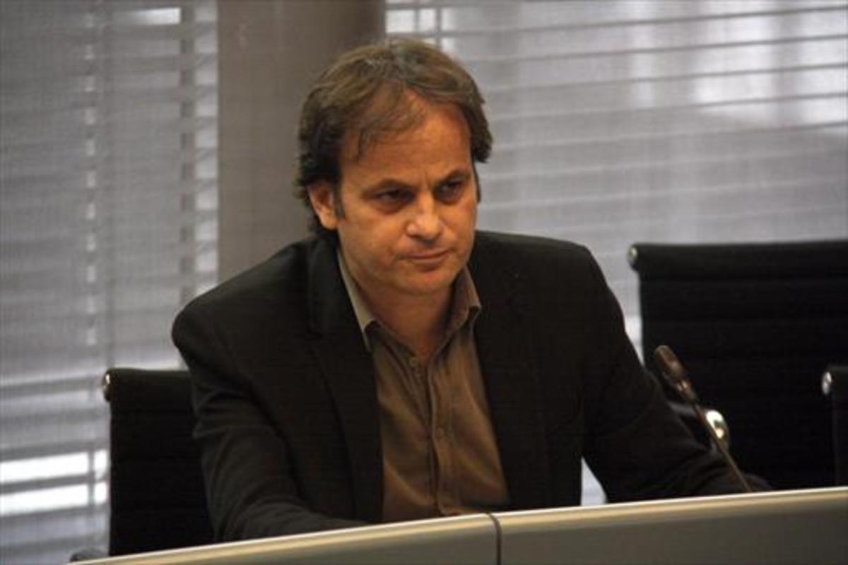 El teniente de alcalde Jaume Asen, en una reciente comparecencia municipal.