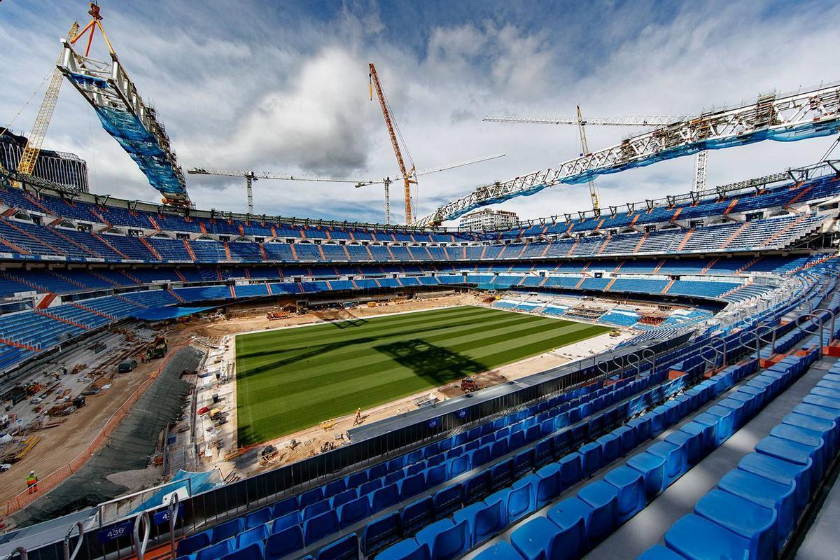 El Bernabéu s'obre al futur