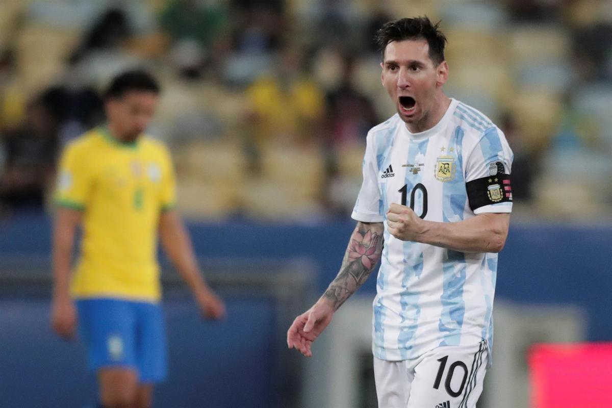 Final de la Copa América: Argentina-Brasil