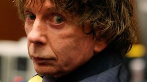 El productor musical Phil Spector.