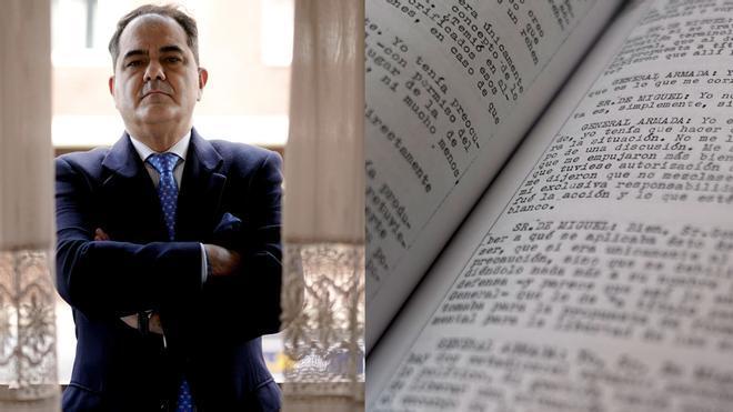 El historiador Roberto Muñoz Bolaños descubre algunos secretos escondidos en el sumario del 23-F