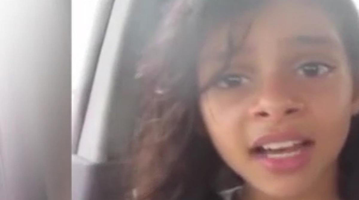 Vídeo en el que la Nada Al-Ahdal, la niña yemení obligada a casarse con 11 años, denuncia su situación.