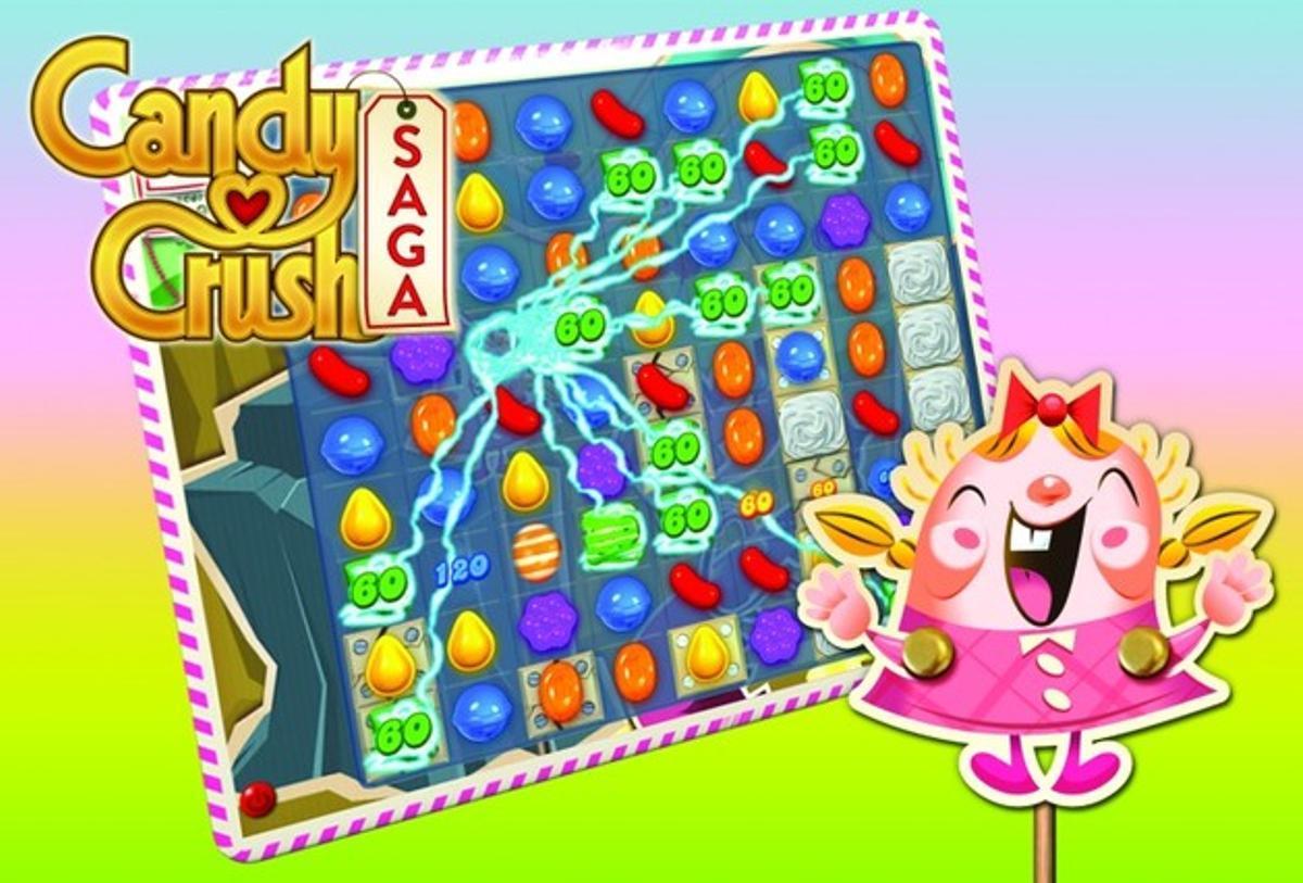 El juego Candy Crush Saga.