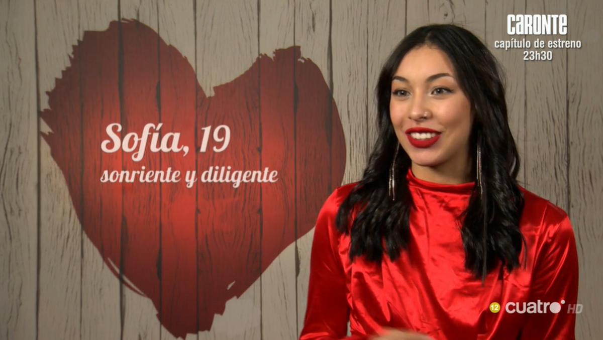 La Sofia, a la cita a 'First dates': «M'agraden les dones, però per a una estona»