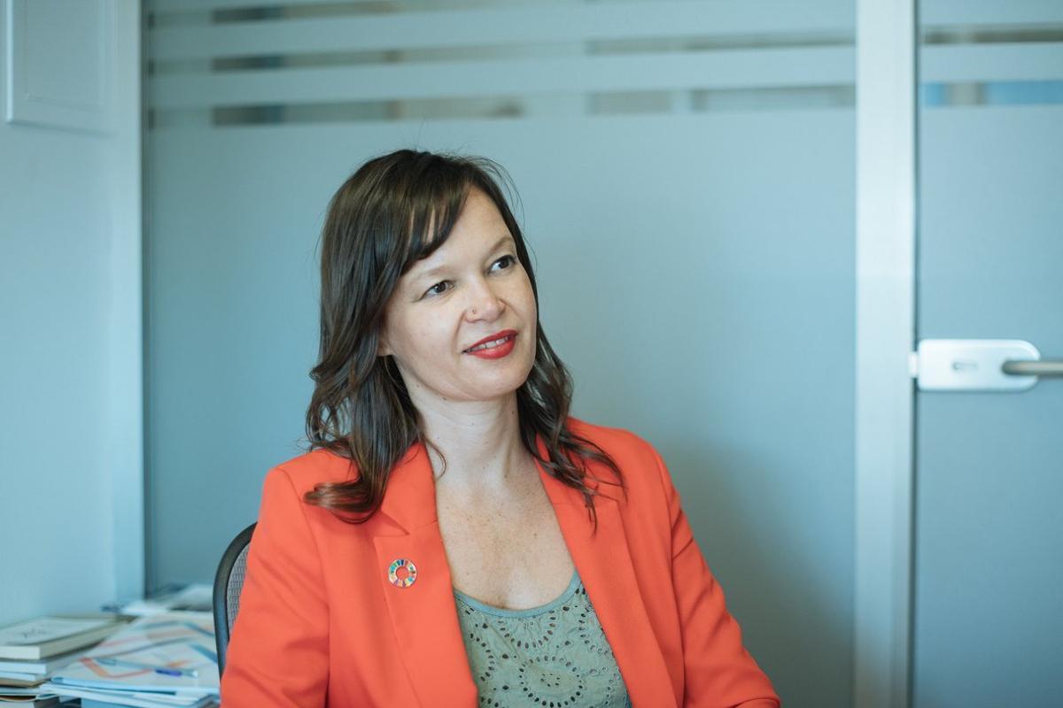 Leire Pajín es la presidenta de la Red Española para el Desarrollo Sostenible (REDS).