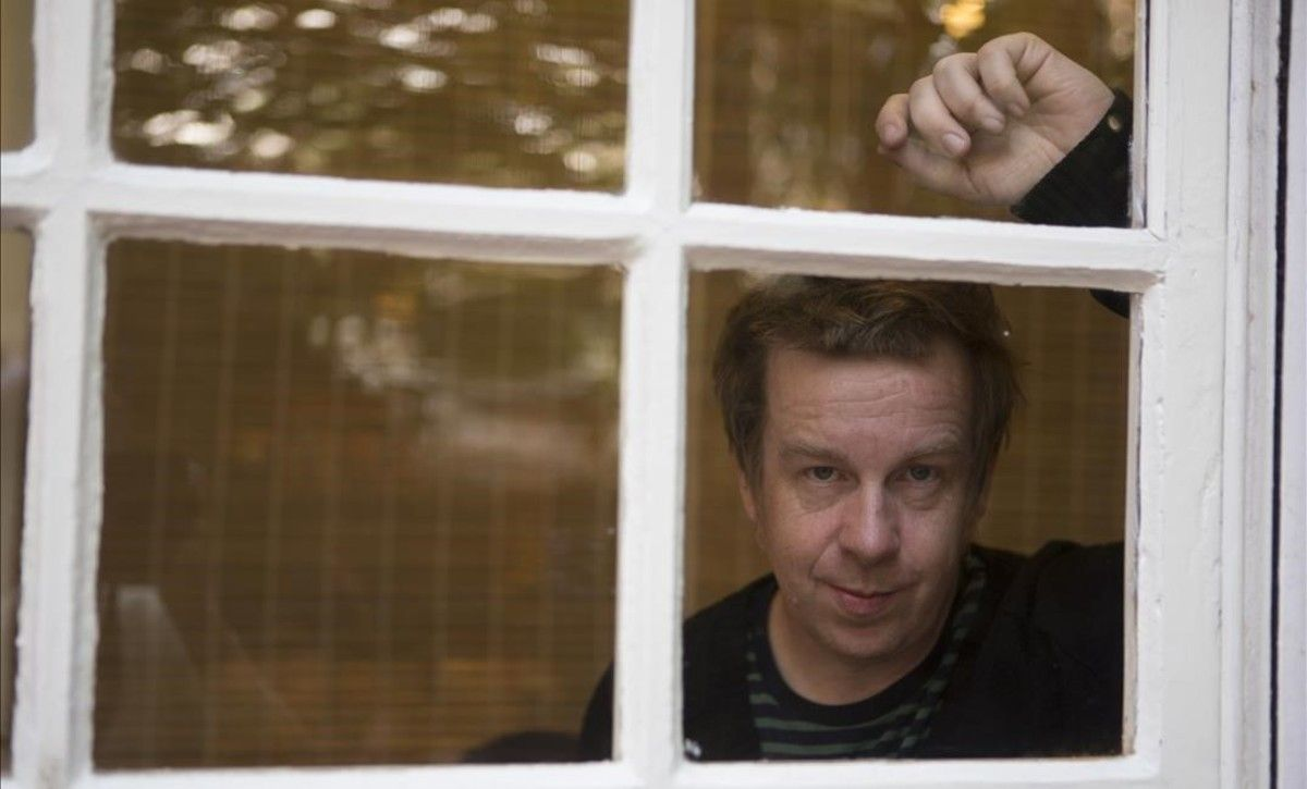Kevin Barry, en la librería La Central.