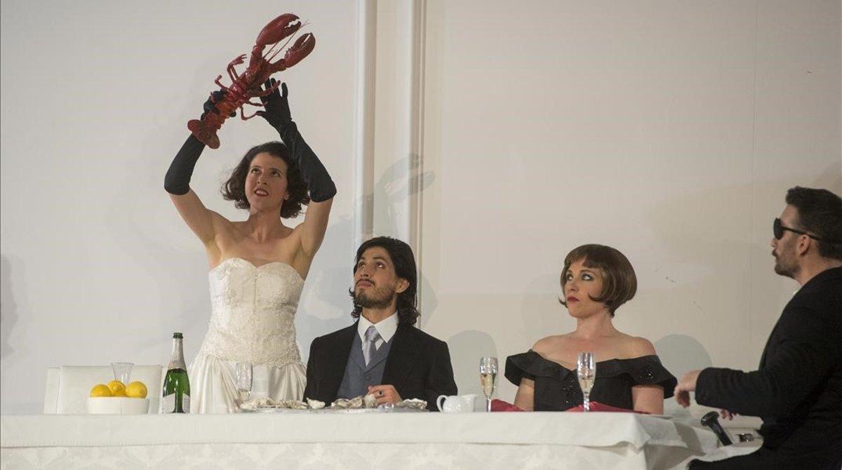 Lisette Oropesa, durante la representación de 'Rodelinda' en el Liceu