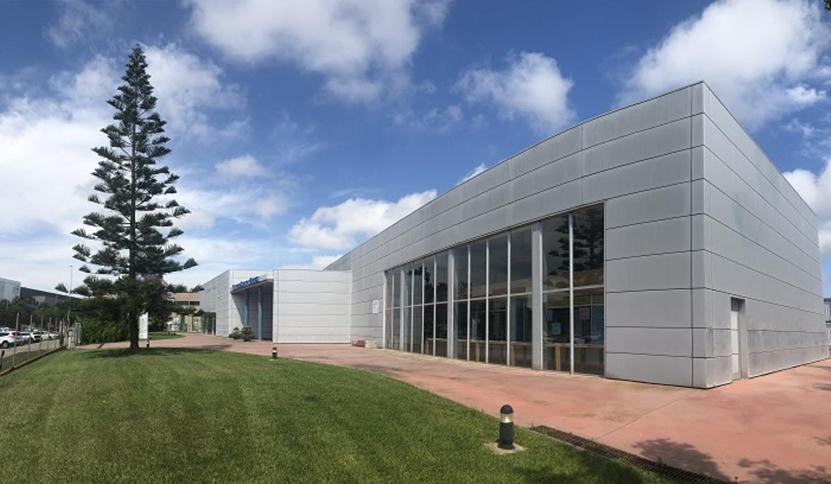 Exterior del Centre de Serveis a l'Empresa de Gavà