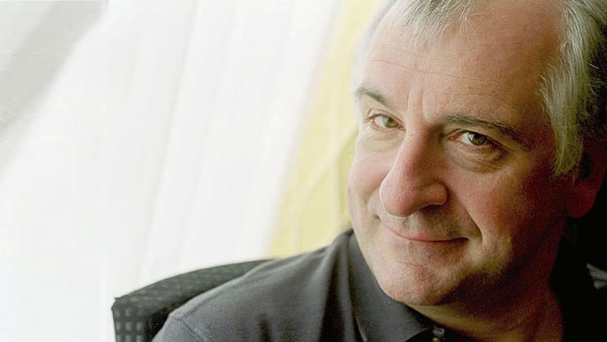 El escritor británico y autor de 'Guia del autoestopista galáctico' Douglas Adams.