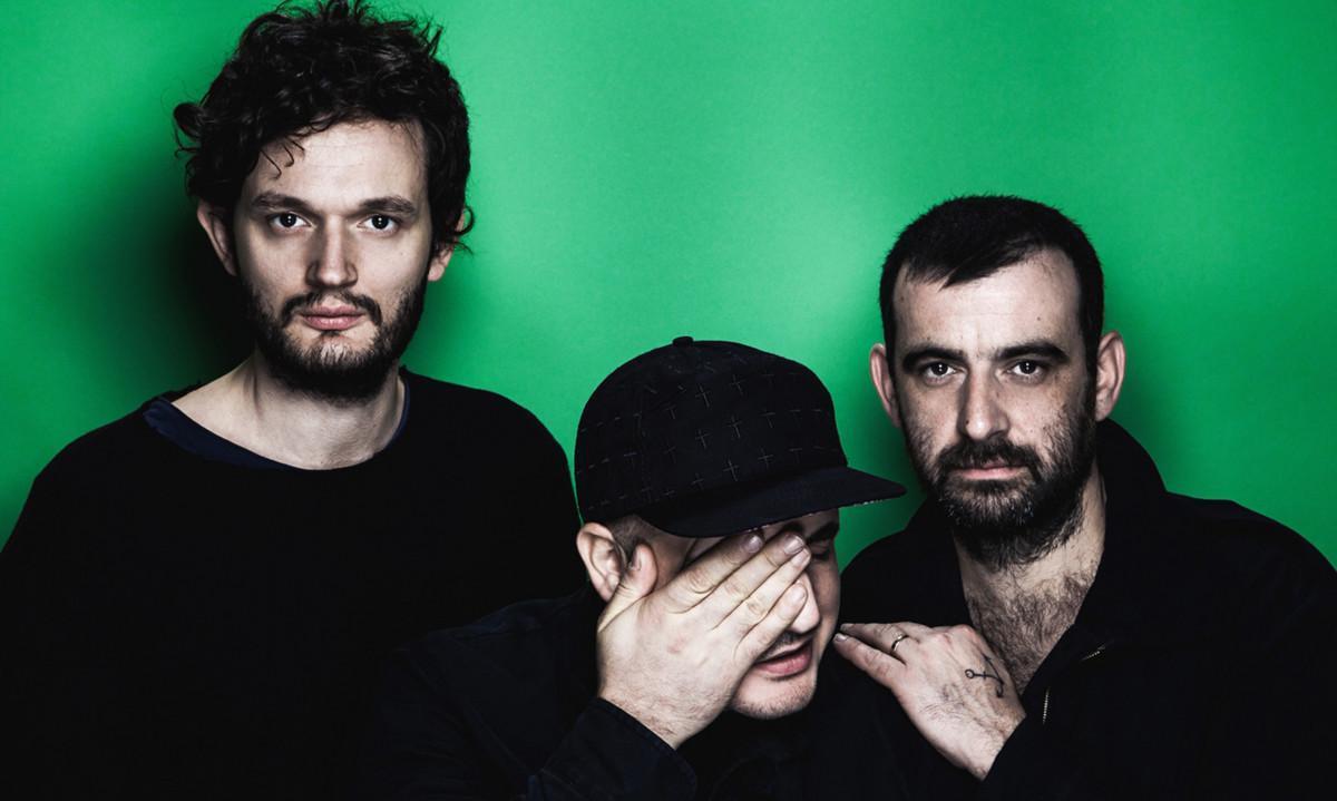De izquierda a derecha, Sascha Ring,Gernot Bronser ySebastian Szary, en una imagen promocional de Moderat.