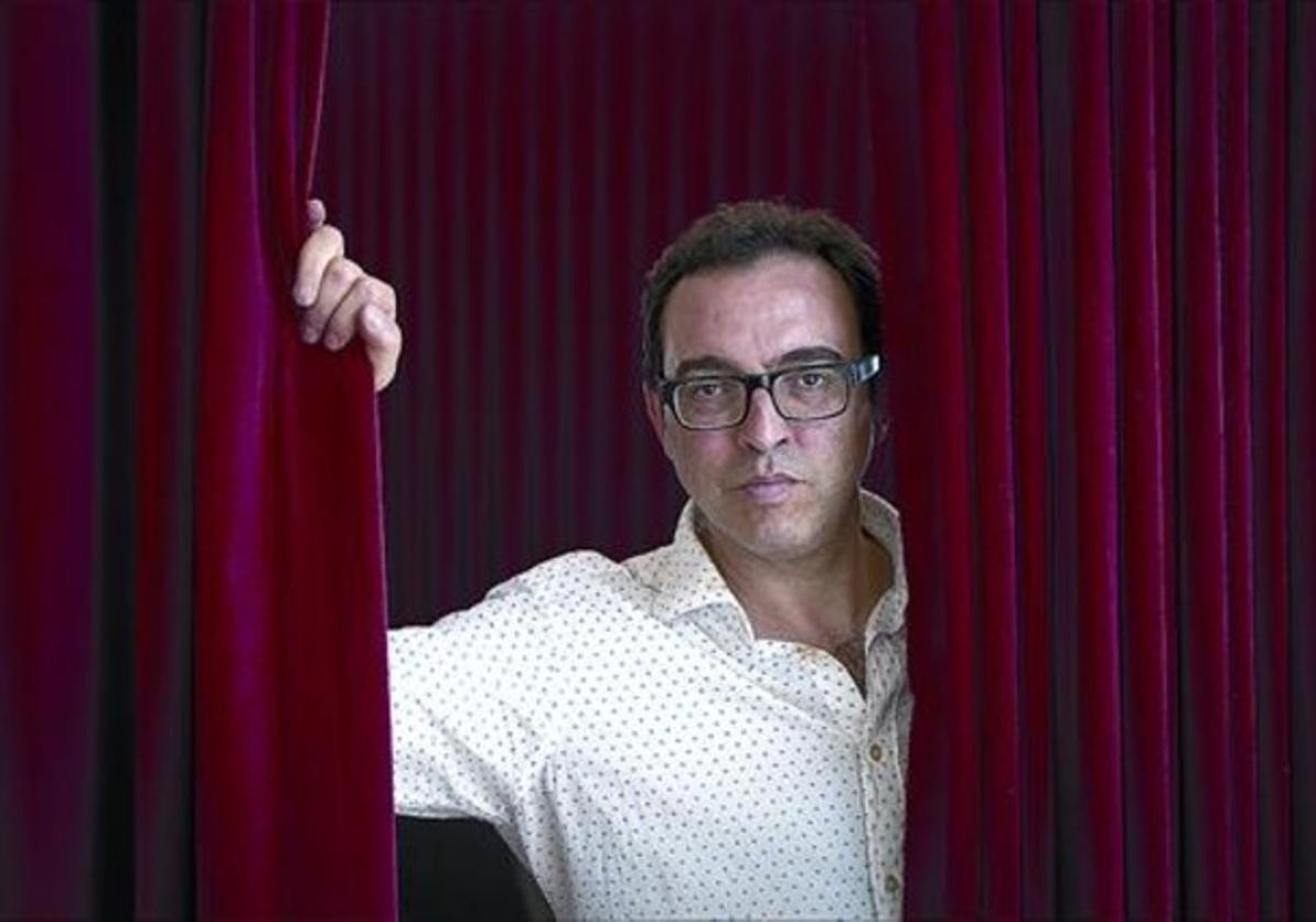 Sergi Belbel, ayer en el Teatre Nacional de Catalunya.